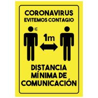 Distancia Mínima - Sanitización Ambientes