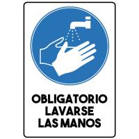 Obligatorio Lavarse las Manos - Sanitización Ambientes