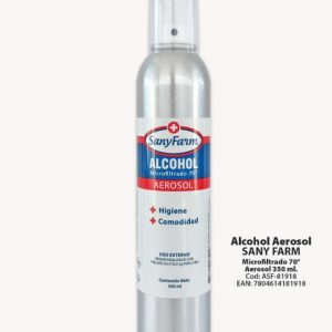 Alcohol Aerosol 350 ml Sanyfarm