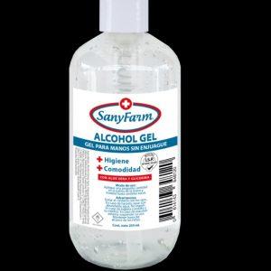 Alcohol Gel 250 ml Sanyfarm