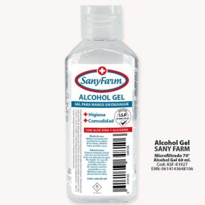 Alcohol Gel 60 ml Sanyfarm