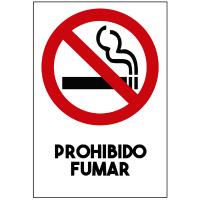 No fumar - Sanitización Ambientes