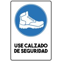 Usa Calzado de Seguridad - Sanitización Ambientes