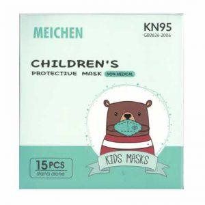 KN95 INFANTIL PERRITO 15 UN