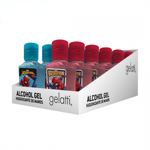 Alcohol Gel Spiderman 59 ml