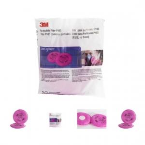 Par 3m® Filtro 2091 P100 Partículas, Polvos, Neblinas, Humos