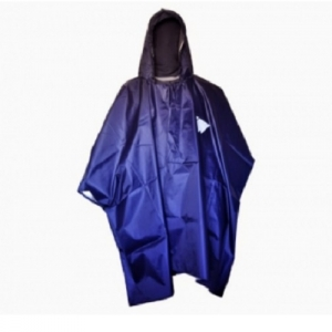 CAPA IMPERMEABLE BUNKER PVC 0.35 MM AZUL TALLA UNICA