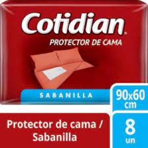 PROTECTOR DE CAMA COTIDIAN (Sabanillas) 8 Unidades