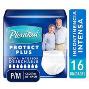 PLENITUD PANTS ADULTO TALLAS  P – M  16 UNI.