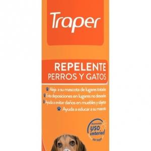 REPELENTE PERROS Y GATOS TRAPER 400 CC