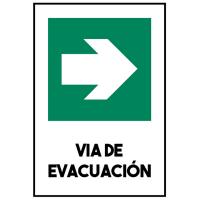 VIA DE EVACUACIÓN DERECHA