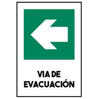 VIA DE EVACUACIÓN IZQUIERDA