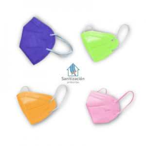 PACK 10 MASCARILLAS KN95 (COLORES)