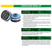 Filtro Mga 1p Gases Ácidos Pintura, Cloro, Azufre Isp (PAR)