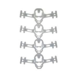 Salva Oreja – Sujeta Mascarilla Niño/ ña Pack 4 Unidades (Iron Man)