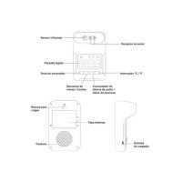 TERMOMETRO K3 SIN ATRIL - Sanitización y Ambientes