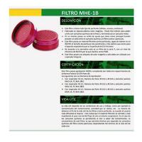 Filtro Mhe 1b Certificado 99.95% Particulado (PAR)
