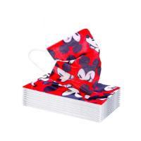 Mascarilla Infantiles Micky Maus Rojo